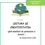 Lectura si creativitate – Claudia Groza Lazar